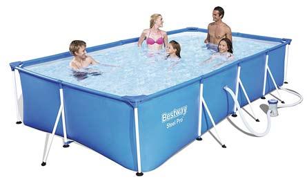 bestway piscina demsontable