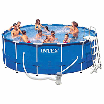 Piscina hinchable barata for Piscinas bricoking