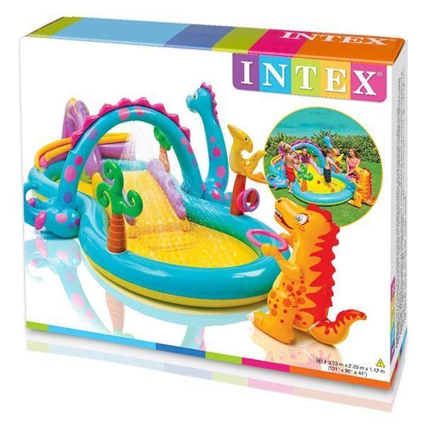 caja juegos hinchables intex