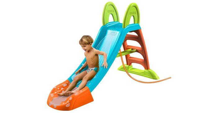 toboganes para piscina con agua