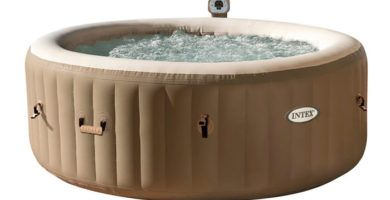 jacuzzi hinchable intex