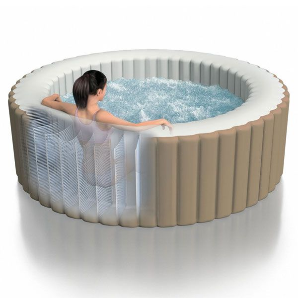 jacuzzi intex hinchable