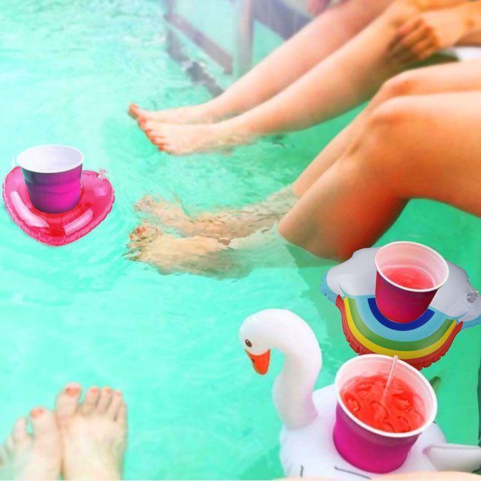 posavasos de piscinas