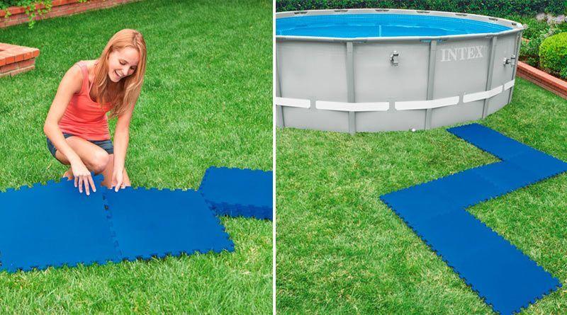 Suelos para piscinas desmontables goma eva y pl stico for Plastico para piscinas desmontables