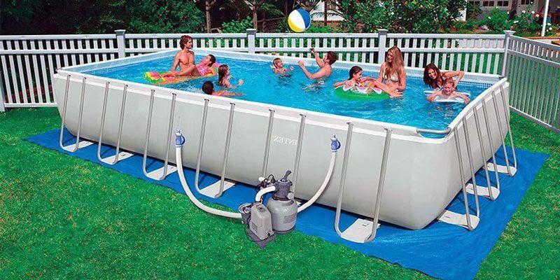 Fotos de piscinas de plastico top piscina bestway steel for Piscina tubular pequena