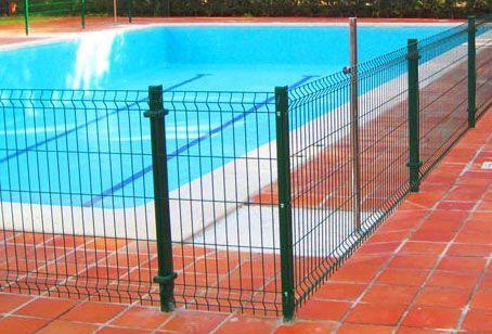 vallas para piscinas metálicas