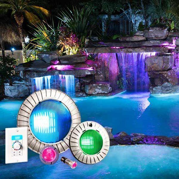 luces para piscinas focos de led