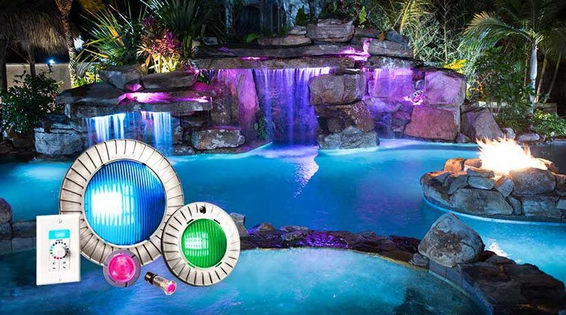 Luces piscina sin instalacion amazing foco piscina for Foco piscina