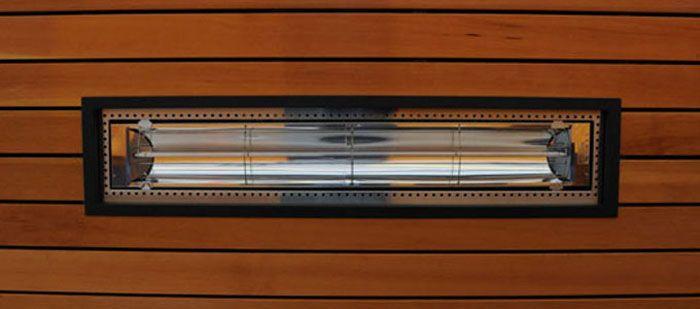 calefactor pared para exterior
