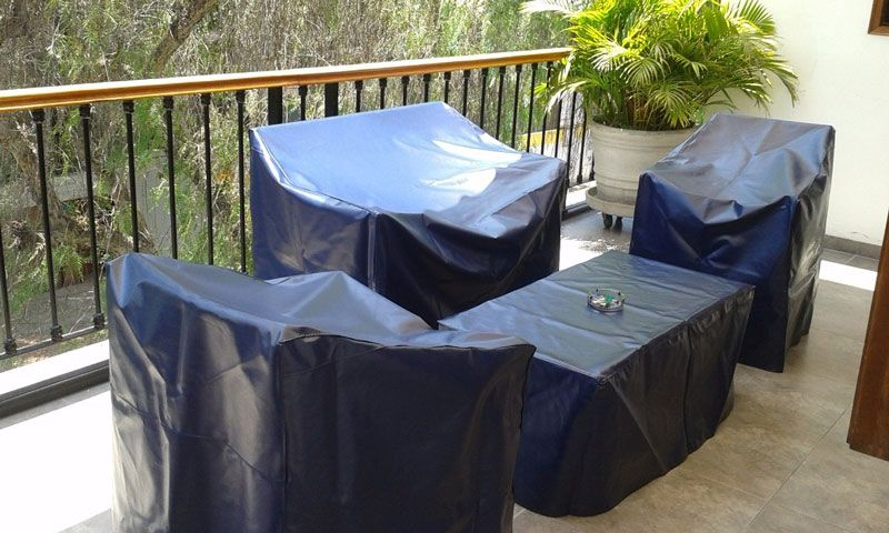 funda mueble terraza