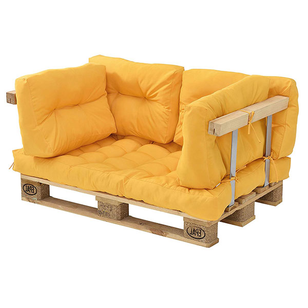 sofa palets completo