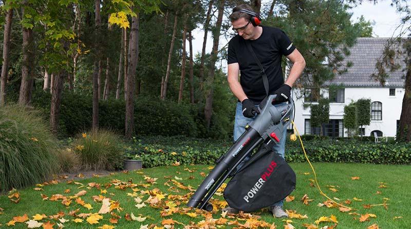 soplador aspirador de hojas