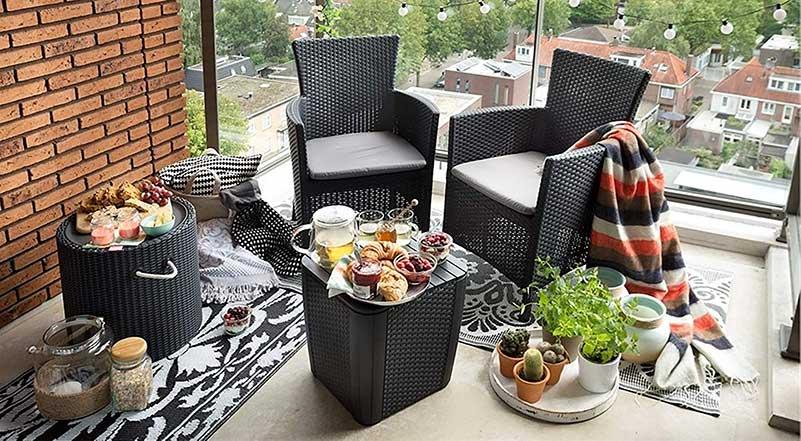 sillas para terraza