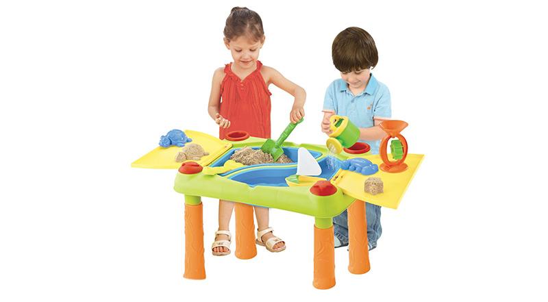 arenero mesa infantil