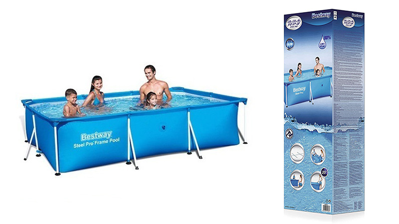 comprar piscina bestway rectangular