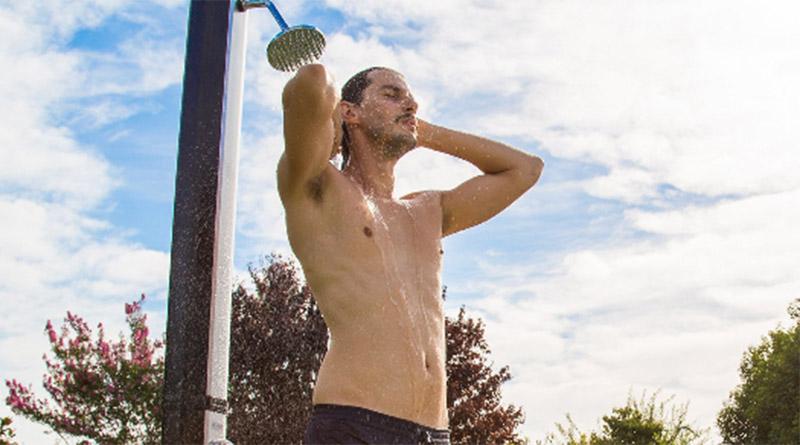 comprar ducha para jardin